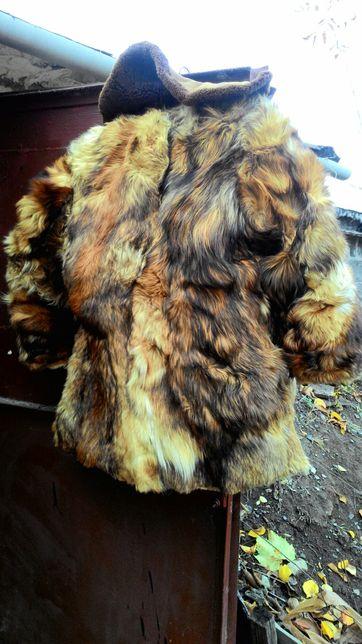 натуральный мех красного волка набор для шубы или куртки