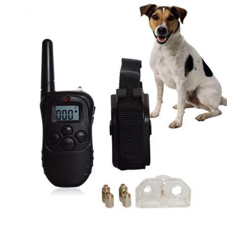 Coleira Electrónica anti latido adestramento treino cães