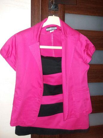 Kostium,komplet,spódnica i żakiet L