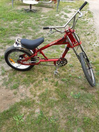 Rower Harley czerwony