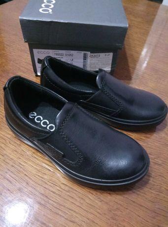 Слипоны, туфли Ecco S7 teen новые 27 размер кожаные