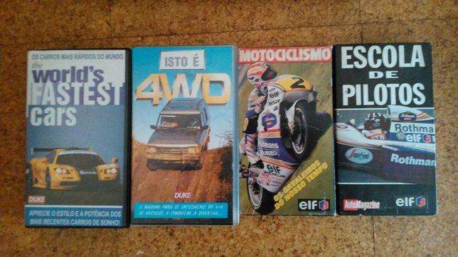 Cassetes VHS.