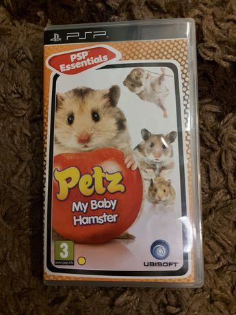 Petz My Baby Hamster gra dla dzieci na PSP