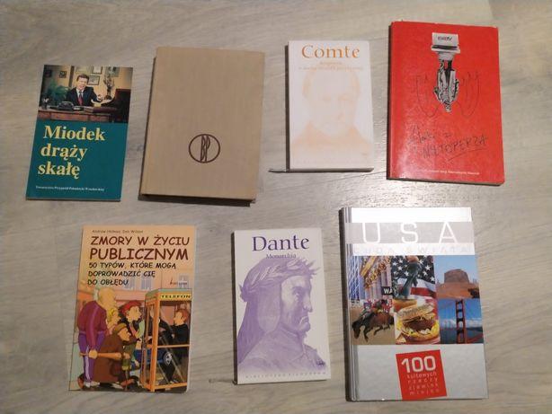 Książki różne cena za sztukę
