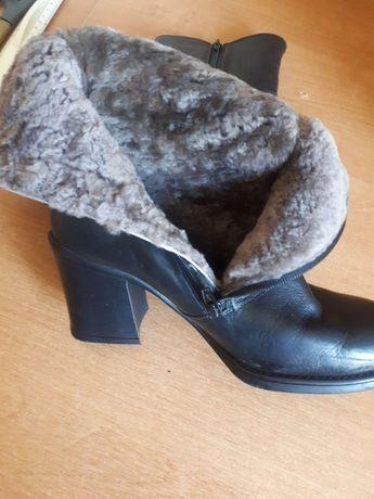 Полусапожки ботинки зимние SALAMANDER оригинал р.41 стелька 26,5см