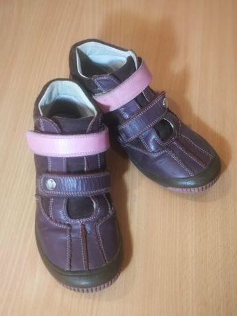 Ботинки кожаные для девочки