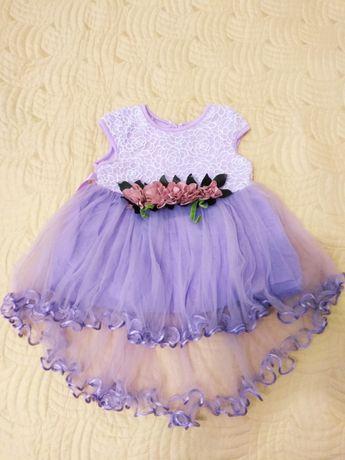 Платье нарядное на малышку