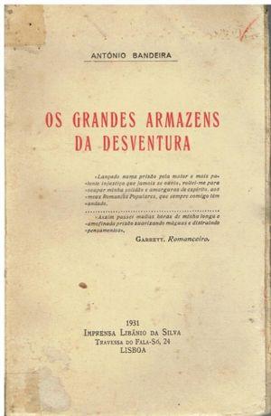 9931 Os Grandes Armazens da Desventura de António Bandeira
