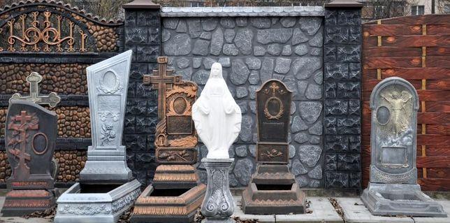 Бетонные памятники, надгробники, гробници от производителя