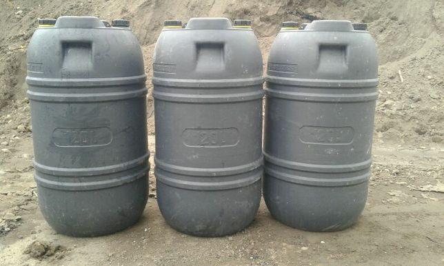Beczki plastikowe beczka 120 litrów