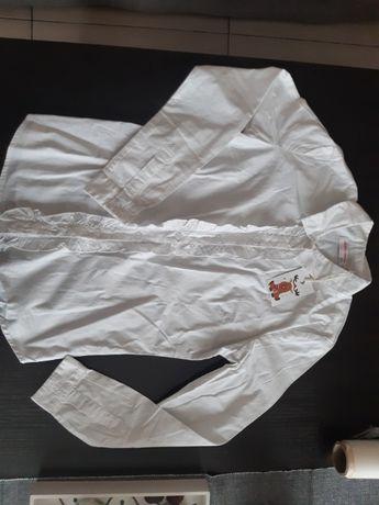 Biała koszula r 164
