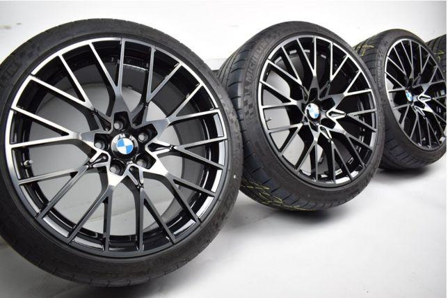 """Komplet kół z oponami 19"""" 5x120 BMW m2 f87 m3 m4 788m yspoke kute FVAT"""