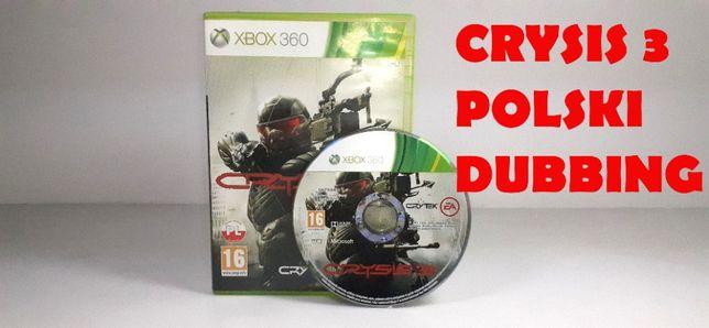 CRYSIS 3 Xbox 360 polskie wydanie PL dubbing