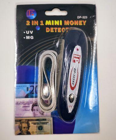 Мини детектор для денег DP-323AE Ультрафиолетовый магнитный детектор