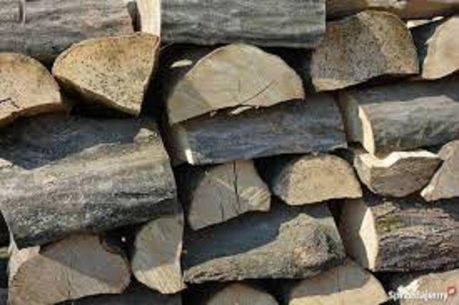 Opałowe i kominkowe drewno-połupane, zdrowe, układane,