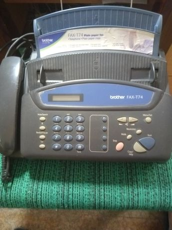 Телефон факс Brother FAX-T74