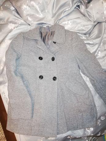 Płaszczyk płaszcz szary Zara r. 128
