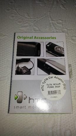 Carregador viatura HTC mini usb