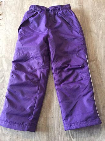 Классные, теплые, новые зимние штаны 116 размер