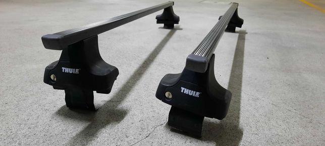 Suportes e barras tejadilho thule rapid system seat leon