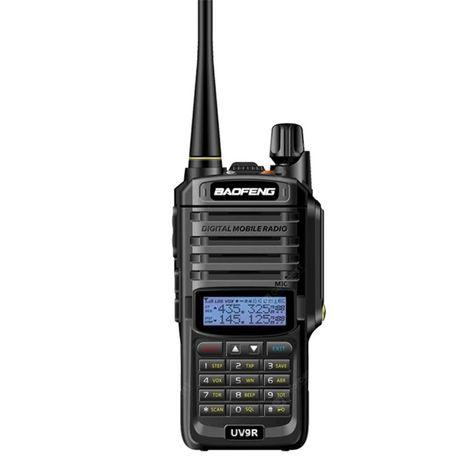 2019 Baofeng UV-9R 8W Walkie Talkie Radio Amador ip67 entrega imediata