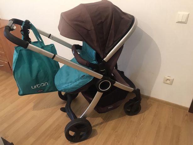 Дитяча коляска 2 в 1 chicco urban