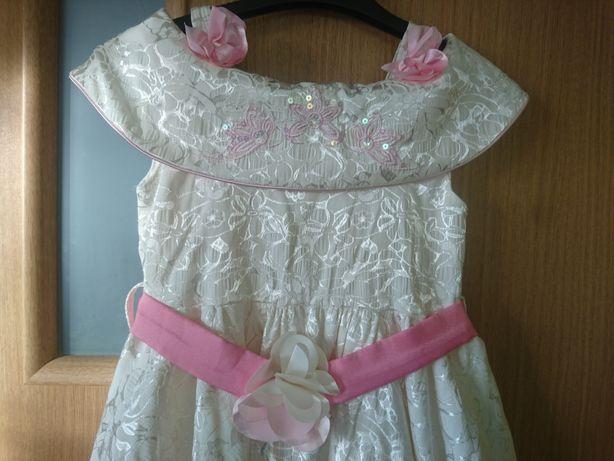 sukienka balowa r 128