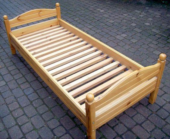 Łóżko sosnowe dziecięco / młodzieżowe