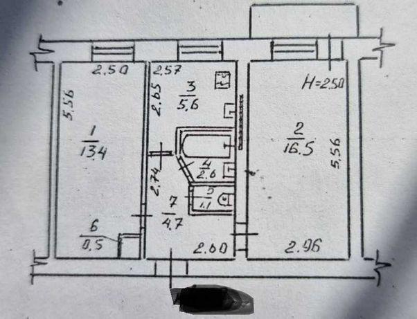 01Продам 2-комнатную квартиру на Черемушках