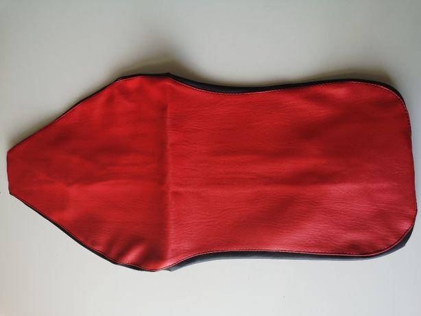 Pokrowiec siedzenia JUNAK czarno-czerwony