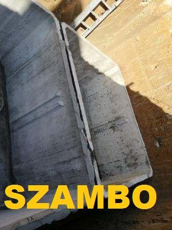 Zbiornik na gnojówkę gnojowice gnoj szambo odchody betonowe 2000l