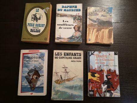 Książki po francusku zestaw 6