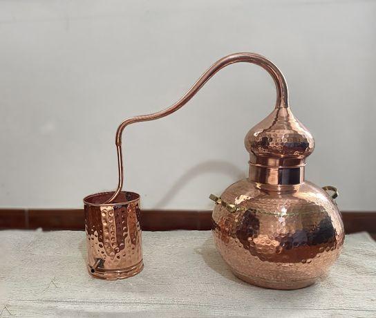 Alambique em cobre