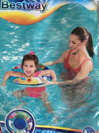 Круг для плавання, детский круг для плаванья, надувной круг для плаван