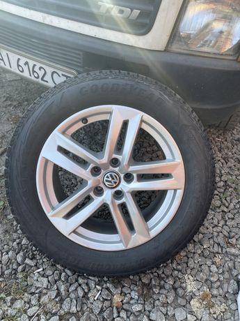 5 112 r17 VW AUDI з шинами 235 55 17