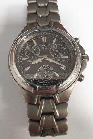Zegarek Tissot tytanowy Chronograf