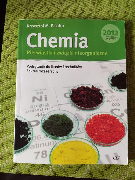 Chemia pierwiastki i związki nieorganiczne Pazdro