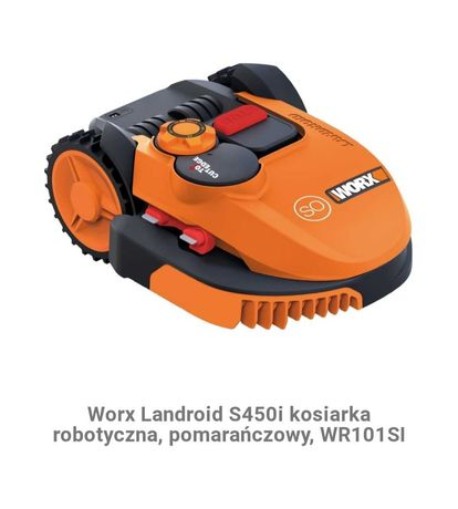 Skradziono kosiarka robot koszący Landroid