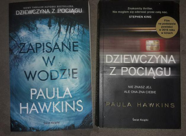Zestaw - Dziewczyna z pociągu + Zapisane w wodzie Paula Hawkins