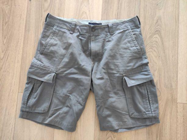 Krótkie spodenki Tommy Hilfiger rozmiar 34 czyli ok.86-88 cm w szare