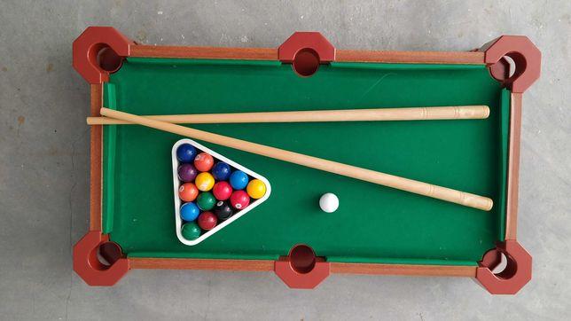 Mini Mesa de snooker de madeira