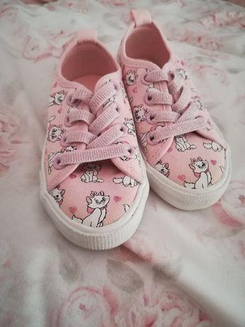 Buty trampki tenisówki sportowe różowe hello  kotki 24 (23) h&m nowe