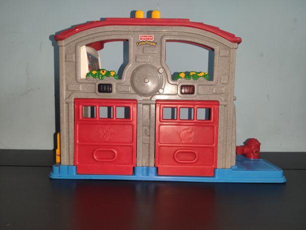 Remiza strażacka Little People z dźwiękiem