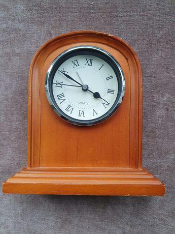 Zegarek, budzik drewniany