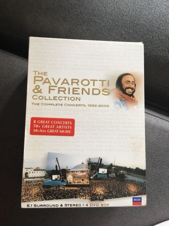 The Pavarotti & Friends collection dvd