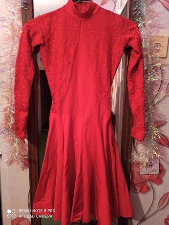 Платье бальное бейсик