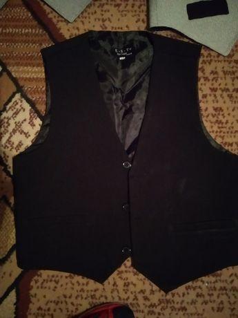 Garnitur spodnie koszula kamizelka
