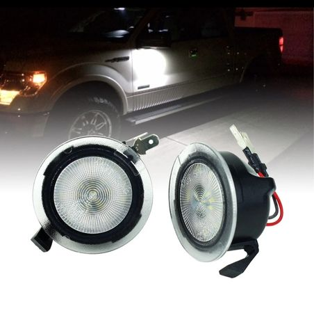 Led підсвітка дзеркала, калюжна лампа Ford fusion Usa, mondeo V.