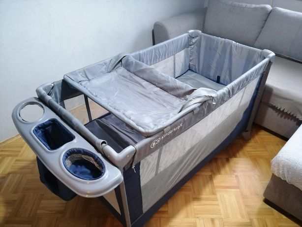 Łóżeczko turystyczne Kinderkraft, bogata wersja.