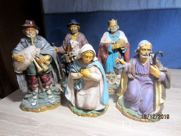 Композиция из 5 статуэток Рождество DEPOSE Италия